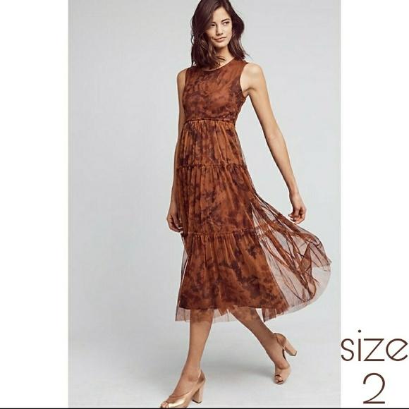 e4917dd6843e Anthropologie Dresses | Hd In Paris Tye Dye Overlay | Poshmark